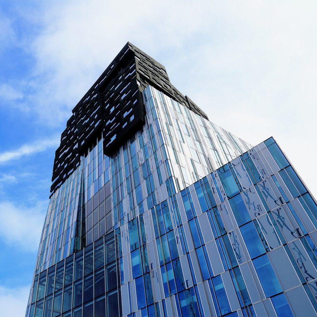 kantoorhuisvesting - skyline foto kantoor zuidas amsterdam